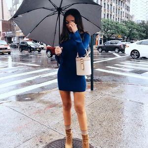 Lovers + Friends Blue Sweater Dress XS worn once💙